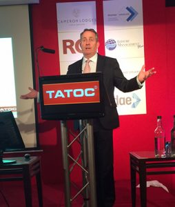 Dr Liam Fox MP addresses the TATOC conference