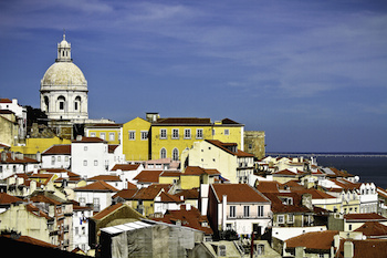 The colourful city of Lisbon
