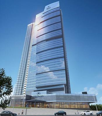 The Hilton Wuhan Riverside