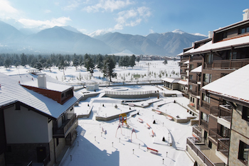 Balkan Jewel Resort in winter