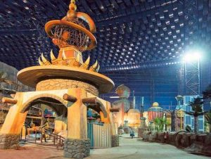 The Lost Valley attraction at IMG Worlds of Adventure