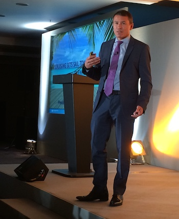 Andrew Stuart, President and COO, Norwegian Cruise Lines at RDO7