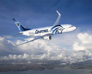 Egyptair jet