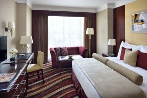 European-style room at the Mövenpick Hotel City Star Jeddah