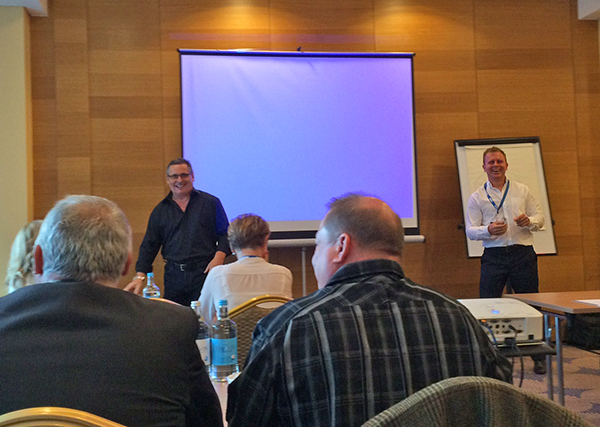 Steve Clarke and John Beckley present a breakout session at RDO7