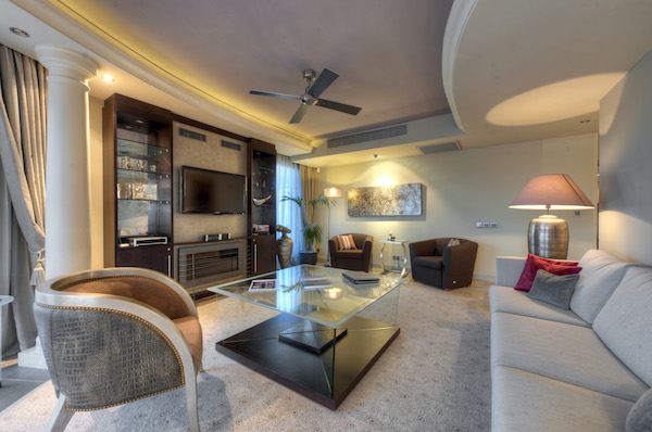 Galaxy Suite luxury at the Radisson Blu Golden Sands Resort & Spa