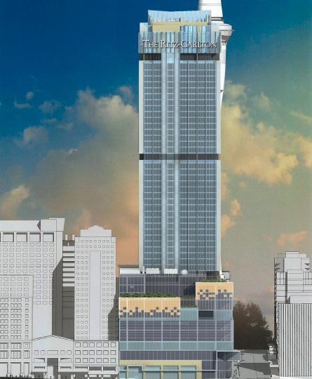 How the Ritz-Carlton, Auckland will look