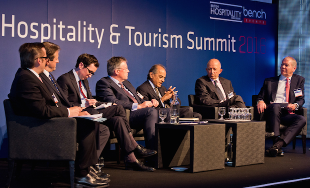 A roundtable session at last year's summit