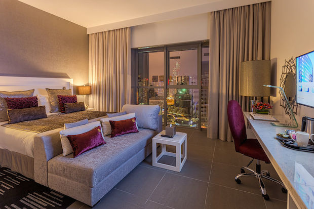 Room at Wyndham Dubai Marina