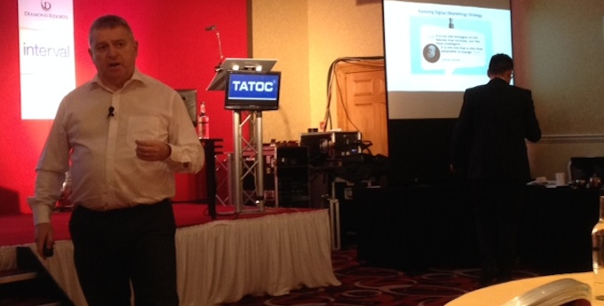 John Heffernan at the TATOC conference