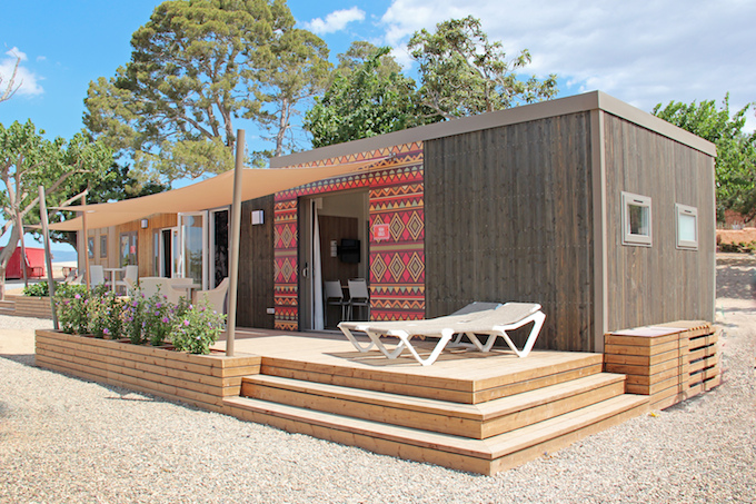 The new 'Africa' accommodation at Camping & Resort Sangulí Salou
