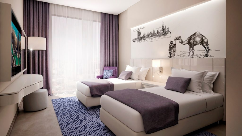 Room at the new Mercure Dubai Barsha Heights Hotel Suites & Apartments
