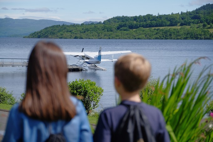 Seaplane trips can be arranged from Cameron House