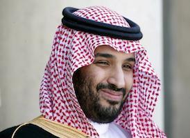 His royal highness Mohammed bin Salman bin Abdulaziz Al Saud