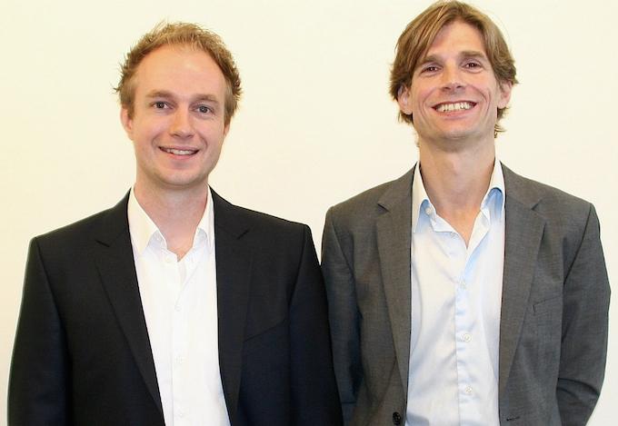 Hotelchamp founders Kasper Middelkoop and Kristian Valk