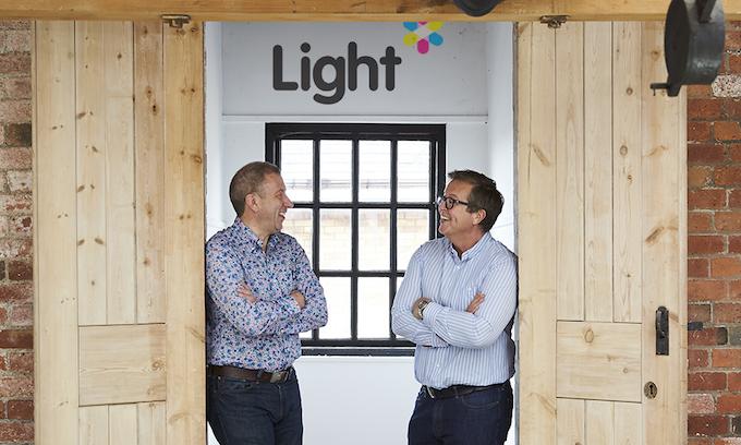 Light Enterprises' CEOs Steve Pentland (left) and Pete Jones