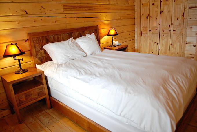 Master bedroom at The Ranch on Lake Tawakoni