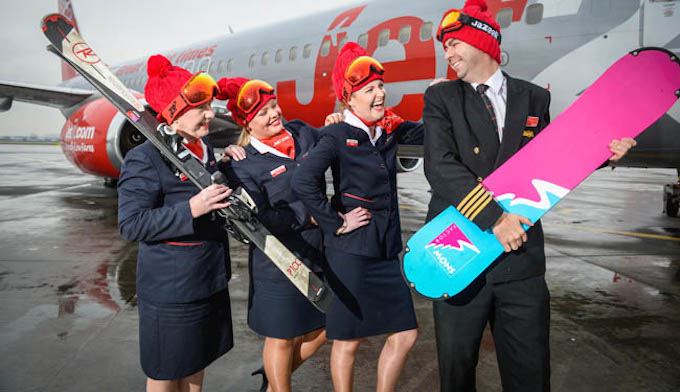 Jet2.com is celebrating the start of its biggest ever ski season