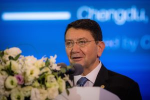 Taleb Rifai addresses the General Assembly