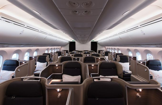 Inside the Dreamliner