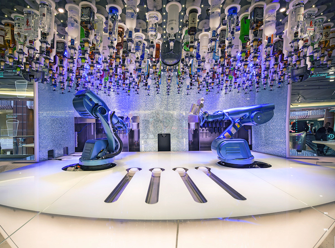 Bionic Bar on Royal Caribbean